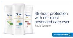 New Printable Dove Deodorant Coupon | Save $2! #spon