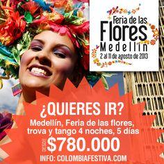 Con visitas a SantaFe de #Antioquia, Finca de silleteros en Santa Helena y mucho más, vive la #Feria en #Medellín - #feriadelasflores