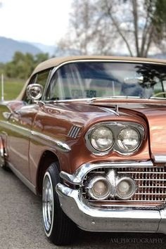 '58 Impala. This was the first year for the Impala. It caught the imagination of America. McC