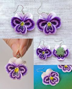12 Paires Simple Rose Stud Earring Mixed Color Flower Wholesale Lot nickel un