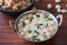 Find Other Indian Food Recipes, Indian Curry Recipes, and Indian Veg Recipes on eknazar. Raitha Recipes, Spicy Recipes, Curry Recipes, Vegetarian Recipes, Healthy Recipes, Simple Recipes, Dinner Recipes, Sabudana Recipes, Pakora Recipes