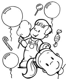 Children-Day-Coloring-Pages-of-Kids-Enjoying.jpg (1370×1600)