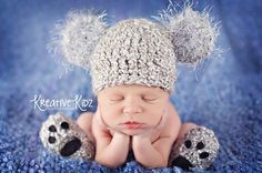 Baby Boy Crochet Hoodies