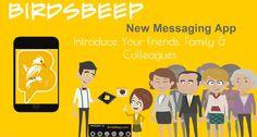 BirdsBeep - A #New #Messaging #Application.