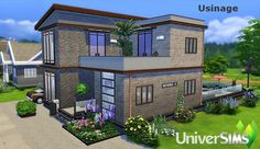 Usinage house by Sirhc59 at L'UniverSims via Sims 4 Updates  Check more at http://sims4updates.net/lots/usinage-house-by-sirhc59-at-luniversims/