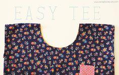 [easy t-shirt tutorial] scrapbook-etc.com