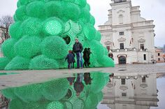 Recycled-Sprite-Bottle-Christmas-Tree-1