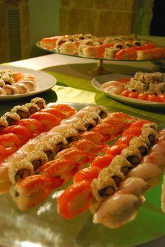 angolo del sushi a vista