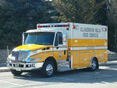 Clarendon Hills Fire Department, International Ambulance #314