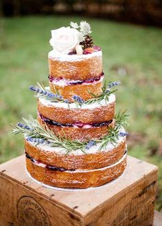 You would think choosing your wedding cake would be simple. But there are so many choices out there. Should you go for a 'naked' wedding cake (one without icing) or perhaps a macaroon tower? If you like keeping up with the latest bridal trends, read the top 12 wedding cake trends for 2016. Read on