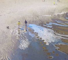 artnet Galleries: Awaiting the Tide by Ruth Stage from Brandler Galleries