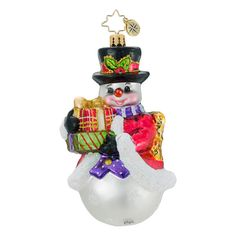 Christopher Radko Christmas Ornament - Winter Whimsy
