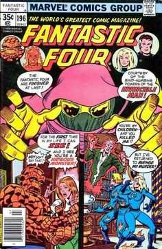 Fantastic Four #196 - Who In The World is The Invincible Man?