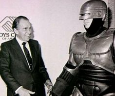 Richard Nixon & Robocop