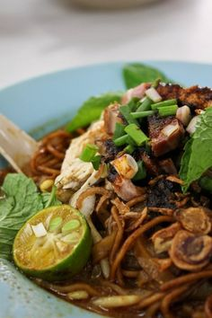 Dried Nyonya Curry Noodles, Ipoh, Malaysia