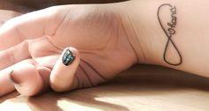 "∞ | Ohana Infinity Tattoo ""ohana means family, family means nobody gets left behind or forgotten!"""