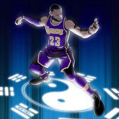 Nba Lebron James, Kobe Bryant Pictures, Nba Pictures, Apple Wallpaper Iphone, Nba Wallpapers, Basketball Art, Magic Johnson, Nba Players, King James