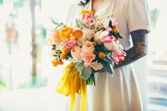 This WWII Inspired Elopement at the Santa Barbara County Courthouse Took Us Back in Time