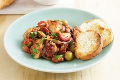 Chicken and chorizo hotpot. Wednesday night cooking doesn't get much easier - or tastier - than this one-pot dish.