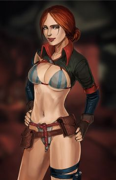 Triss Merigold by nesoun on DeviantArt