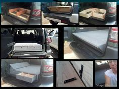 Custom Bed Platform For Toyota Suv I Could Appreciate And Even