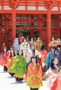 Aoi Festival, Kyoto, Japan