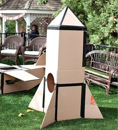 11 DIY Toys to Make From Cardboard Boxes- Ship