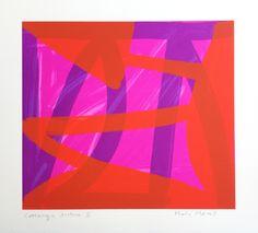 Mali MorrisRA, Crossings Date:2014 Size (cm - unframed): 40 x 43 Technique:Screenprint Materials:Somerset Velvet 300gsm Edition size:30 Publisher:The Print Studio Copyright:The Artist P.O.A.