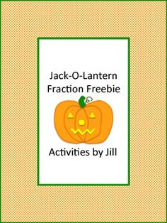 "Welcome autumn with this fall freebie!   Your students will add, subtract, multiply, and divide fractions to figure out the Halloween joke.   ""What do you use to fix a jack-o-lantern?""  CCSS 5.NF CCSS 6.NS CCSS 7.NS"