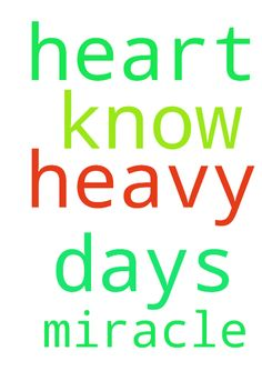 Lord, my heart is so heavy these days. You know why. - Lord, my heart is so heavy these days. You know why. I ask you for a miracle. You are my only help. Posted at: https://prayerrequest.com/t/HRh #pray #prayer #request #prayerrequest