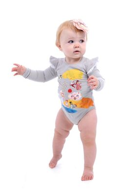 Alice long sleeve bodysuit - Rock Your Baby