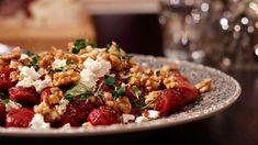 Vackert djupröda och med en balanserad rödbetssmak är det här ett härligt vegoalternativ som är roligt att laga!