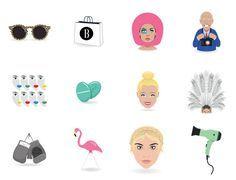 harper's bazaar emojis iphone download for free flamingo emojis fashion emoji