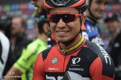 Colombian rider Darwin Atapuma (BMC) during stage 16 of 99th Giro d'Italia