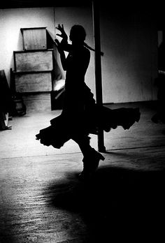 Flamenco en blanco & negro