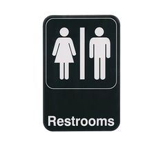 Bathroom Sign Dimensions pencil drawing style restroom sign | signs, drawings and restroom