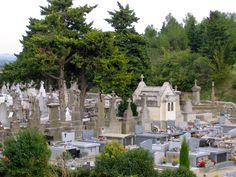 Cemetery outside Carcassonne, France