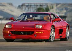 The Ferrari F355. Hubba. The last Ferrari I liked until the 458 Italia came along.