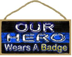 Police Cops, Blue Quotes, Blue Line Police, Distressed Signs, Blue Crafts, Thing 1, Wood Plaques, Thin Blue Lines, Sign Design