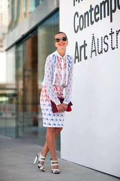 Sydney Fashion Week Spring 2012