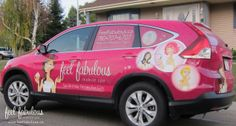 Our Feel Fabulous vehicle! She gets us to and from our spa party's in style.