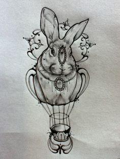 Coniglio bianco..