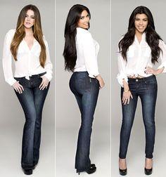 Skinny jeans curvy figure