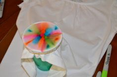 theartgirljackie-tutorials: Tie Dye T-Shirts with Sharpie Markers!