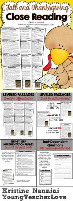 This resource contains EVERYTHING you will need to implement close reading in your classroom! There are THREE DIFFERENT LEVELS OF EACH PASSAGE for you to easily differentiate in your classroom! There are also text-dependent questions and writing prompts for your students to cite evidence from the text, graphic organizers, step-by-step implementation guides, and more!$