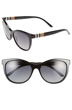 d750ae6f65 Burberry 58mm Polarized Sunglasses available at  Nordstrom Burberry  Sunglasses
