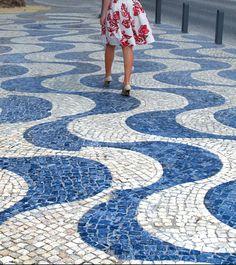 Los comienzos del empedrado portugués Belem, Contemporary, Photography, Home Decor, Armour, Travelling, Lisbon Portugal, Beautiful Places, Monuments