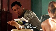 "Starring Jeffrey Donovan, Burn Notice ""Fight or Flight"" Season 1, Episode 3 2007."