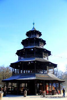 Chinesischer Turm - Munich #Munich #bavariansojourn