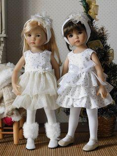 DSCN3028 Cute Girl Dresses, Girl Outfits, Flower Girl Dresses, Doll Dresses, Ag Doll Clothes, Doll Clothes Patterns, Girl Dolls, Baby Dolls, Doll Fancy Dress